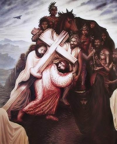 キリストのだまし絵