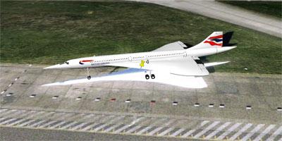 空港で待機する飛行機