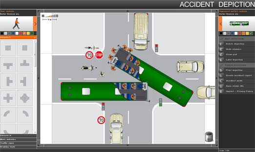事故の状況を図解で作れる