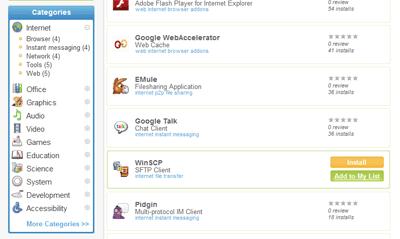 カテゴリごとに見たことのあるフリーソフトがいっぱい
