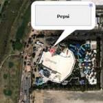 空から見える企業ロゴをGoogle マップでひたすら再生する「Logos on Google Maps」