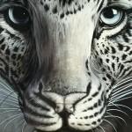 ものすごく秀逸な「豹」の錯覚アート