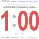 会議の進行に役立ちそうなディスプレイ ストップウォッチ「TimeMe.com」
