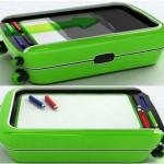 スーツケースがホワイトボードに早変わりするコンセプト「Colored」
