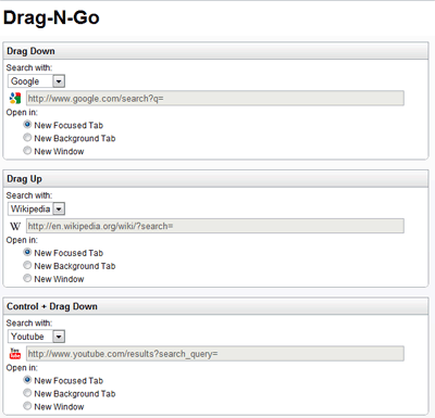 Drag N Go