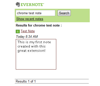 Evernote-Search