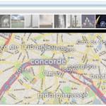地図上でクールに世界中のFlickr画像を表示させる「SlideMap」