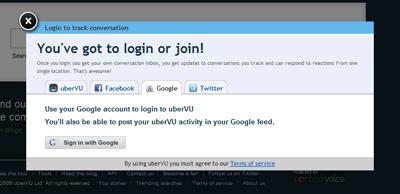 Google、Facebook、twitteerアカウントでログイン