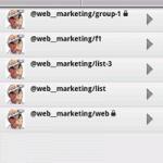 アンドロイド携帯用 マルチアカウント Twitterクライアント「Seesmic」