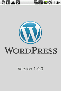 WordPress for Android 1.0