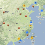 フォーブス 世界長者番付ランカーの分布図「Mapize Forbes Billionaires List Map」