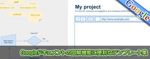 Googleドキュメントの図解機能に便利なテンプレート集