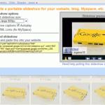 画像を360度グルグル回転できるPicasaの埋め込みスライドショー