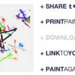 絵の具を叩きつけるように直感的なアートを描けるペイントツール「Drips」