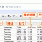 Googleカレンダーを勤怠管理システム(タイムカード)として使える「GTimeReport」