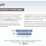Facebookの友人をTwitterで見つけるのに便利な「FriendLynx」