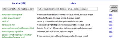 Googleブックマークへ