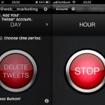 取り消したい、あのツイートたちを一気に消せるiPhoneアプリ「DLTTR」