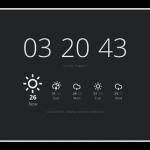 Google Chromeの「新しいタブ」でWindows8調の時計と天気予報を表示する拡張機能「Currently」