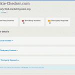 サイトに仕込まれているCookieをチェックできる「Cookie Checker」