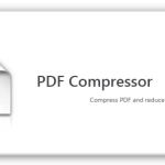 PDFファイルの容量を圧縮できる「PDF Compressor」