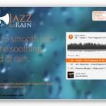 雨音とJazzを同時に楽しめる「JazzAndRain」