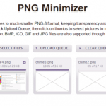 画質を下げずに画像のファイルサイズを圧縮できる「PNG Minimizer」