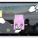 Androidの画面にシンプルな付箋を貼れるアプリ「Floating Stickies」