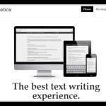 WEBとiPhoneで同期できるシンプルなライティング用エディタ「Writebox」