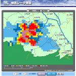 東京アメッシュの埼玉版でゲリラ豪雨に備えよう