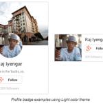 プロフィールとページの Google+ バッジ(フォローボタン)が新しくなったので設置