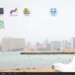 IOS風のランチャーをWindowsデスクトップで使える「WinLaunch」