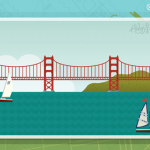イラストで描かれたサンフランシスコのGoogleマップがなんだかおもしろい