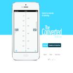 各国の単位に換算してくれるスタイリッシュなiPhoneアプリ「The Converted」