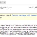 Gmail同士のメールの本文を暗号化してパスワードをかけるChrome拡張「Secure Gmail」