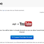 YouTubeへMP3ファイルをカンタンにアップロードできる「TunesToTube」