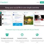 画像や動画を強調したソーシャルメディアのタイムラインをまとめたいひとには「Feedient」