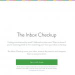 Gmailでのメールの使い方を評価してくれる「The Inbox Checkup」