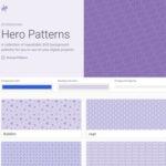 SVG画像を背景画像として呼び出すCSSを生成する「Hero Patterns」