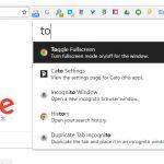 Chromeブラウザをコマンドランチャーで操作できる拡張機能「Cato」