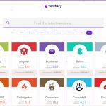 CMSやブラウザ、プログラム言語などの最新バージョンを確認できる「Verstory」