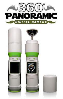 誰でも簡単に360度パノラマ写真を撮れる奇妙なカメラ「BubbleScope」