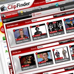 動画をまとめて検索ClipFinder