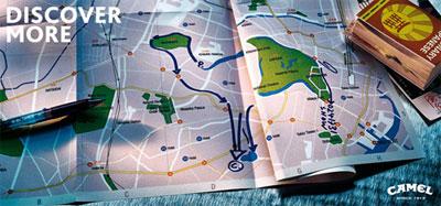 地図の中のキャメル