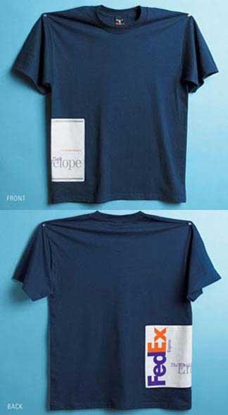 Fedexの錯覚Tシャツ