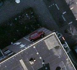 Googleマップで目の錯覚