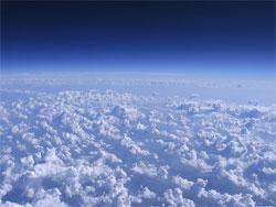 グーグルアースで見るヘリウム風船の旅