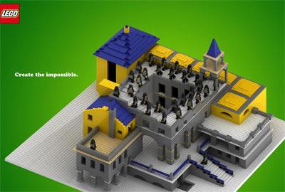 Legoのありえないタワー