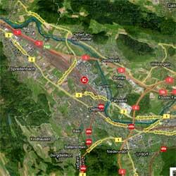 Swiss-Trains、リアルタイム鉄道マップ