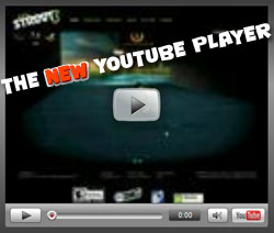 YouTubeの新しくなった埋め込みプレイヤー